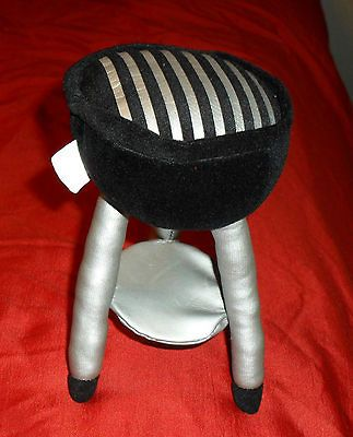 Stuffed Plush Barbeque Grill Toy Odd Unique Item  Very Cute Low Price