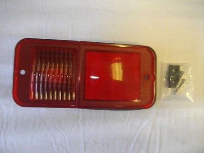 1968 1972 Chevrolet / GMC Truck Rear Marker Lamp, Standard (Red) (Fits