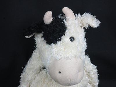 Black White Jellycat Junglie Bunglie Cow Plush Stuffed Animal Toy