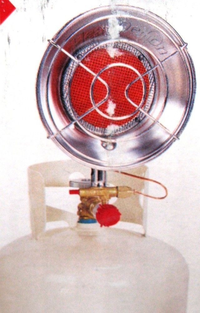 Reddy Heater HD15G Single Propane Infra Red Heater for Garage, Barn