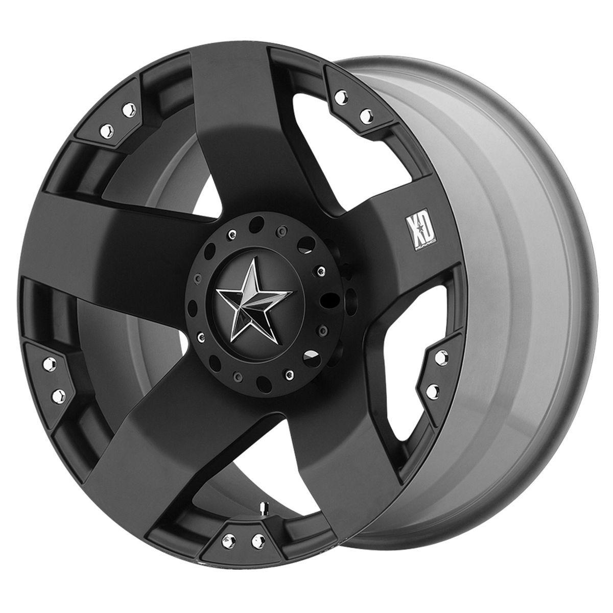Wheels Rims XD775 Rockstar Ford F250 F350 8 Lug 1999 2012 8x170