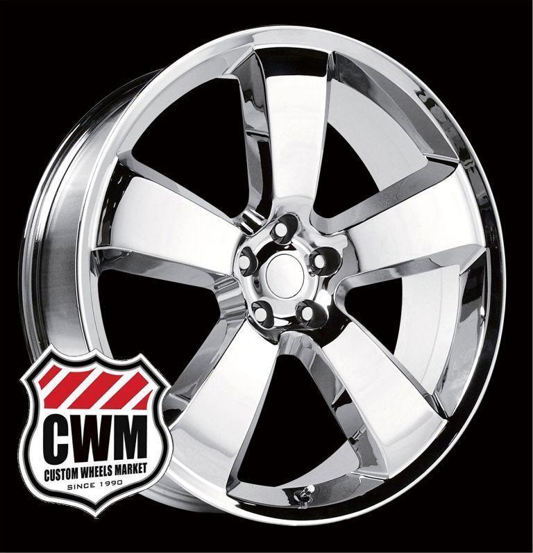 Dodge Charger SRT8 Style Chrome Wheels Rims for Chrysler 300 2011