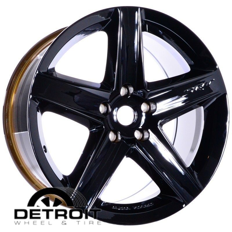 CHEROKEE SRT 8 2007 2010 PVD Black Chrome Wheels Rims Factory 9082