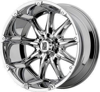 Chrome Tires Rims Chevy GMC Truck Rims Wheels Nitto Tires