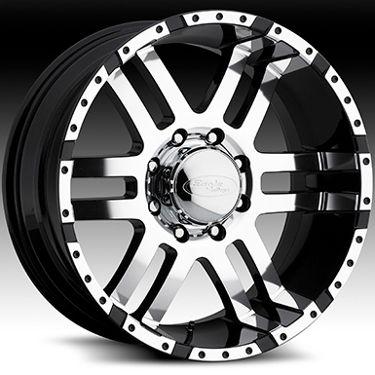 American Eagle 079 wheels rims, 20x9, Fits CHEVY GMC DURAMAX 2500