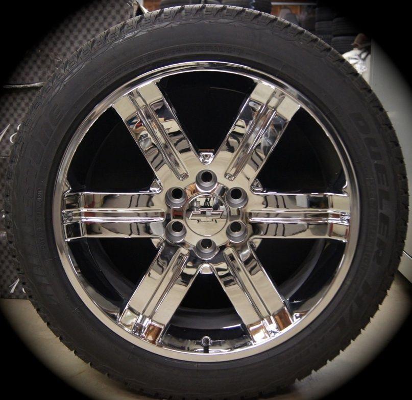 Sierra Cadillac Escalade Chrome 22 Wheels Rims Tires CK919