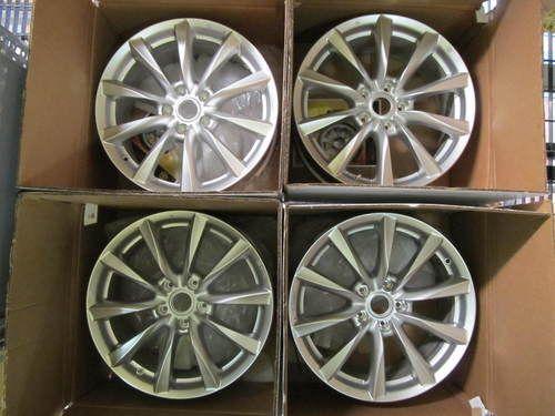 Infiniti G37 G37X Coupe 09 12 18 Factory Wheels Rims Set