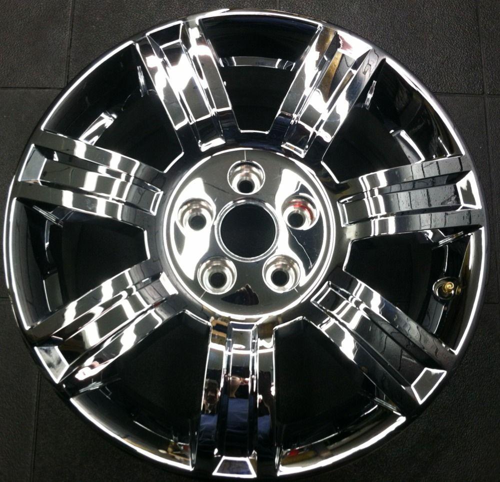 Chrome Clad Cadillac DTS 08 11 Factory Wheel Rim 4644 FPT PWG