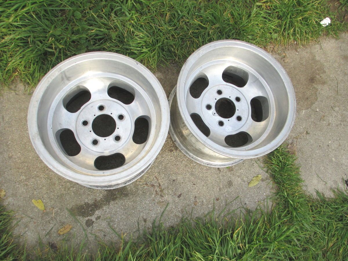 14 x8 US Indy Slot Mag Wheels Rims fits Chevy SS Camaro Chevelle