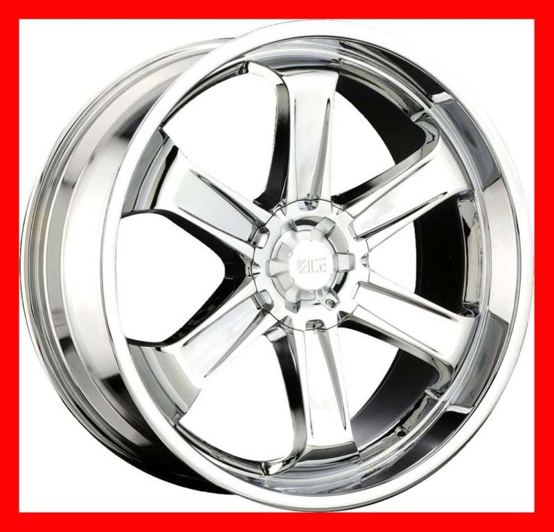 24 Chrome Wheels Rims Ford F 150 Expedition Lincoln Navigator 5x135