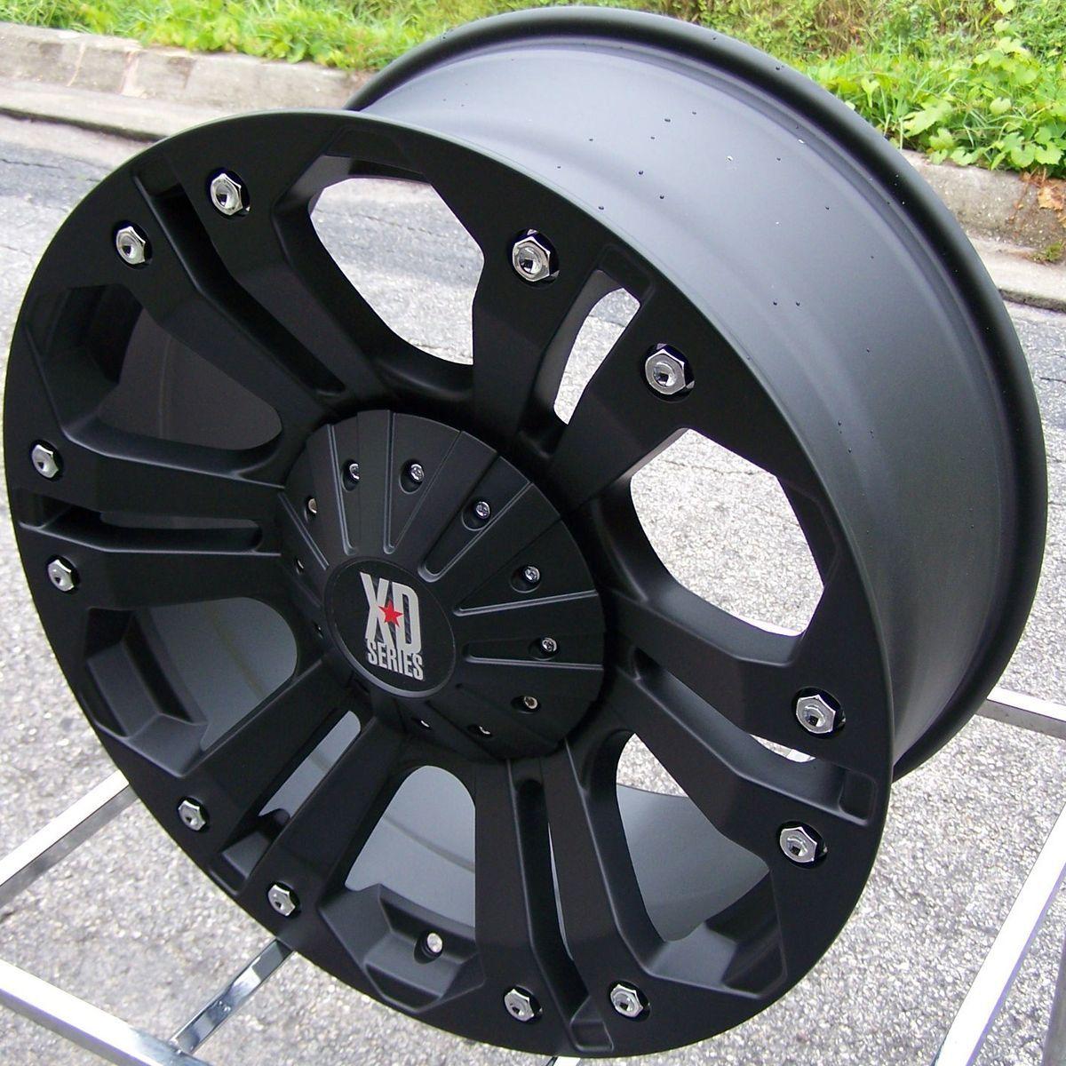 24 XD Monster Wheels Rim Ford F150 Expedition Sierra Yukon Tahoe 1500