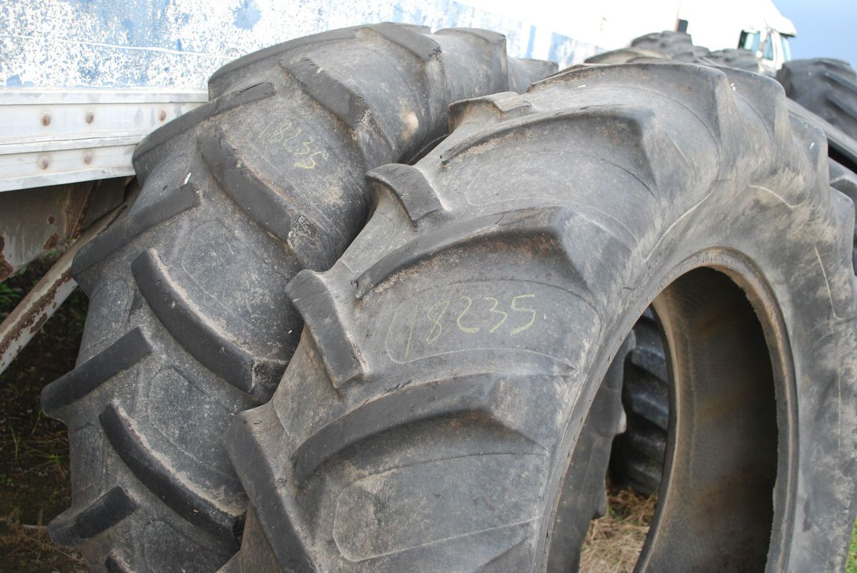 General At Tires >> 18 4 34 Armstrong 8 Ply Tractor Tires Good Shape No Rims
