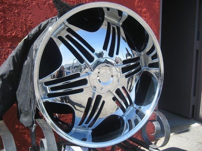 26 Pinnacle P36 Bella Chrome Wheels Rims and Tires Package Gianna Dub