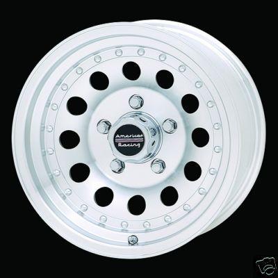 15 Inch 15x7 Outlaw II RIMS 5 Lug Wheel Chevy S10 Blazer El Camino GTO