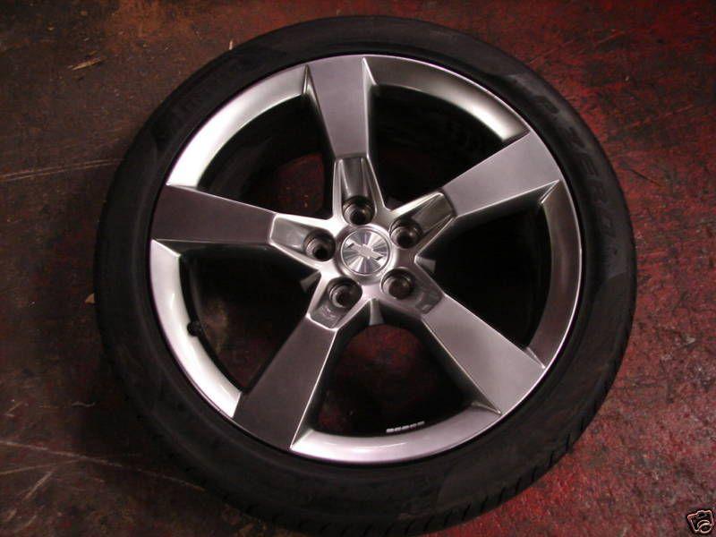 20 Factory GM Chevy Camaro 5 Spoke Wheels Alloys Rims Tires