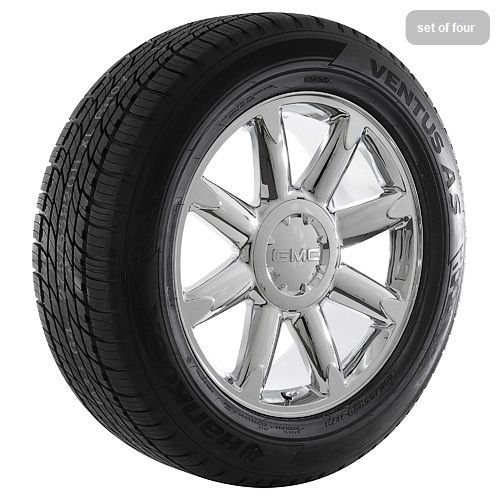 20 GMC Sierra Yukon Denali Chrome Rims Wheels Tires