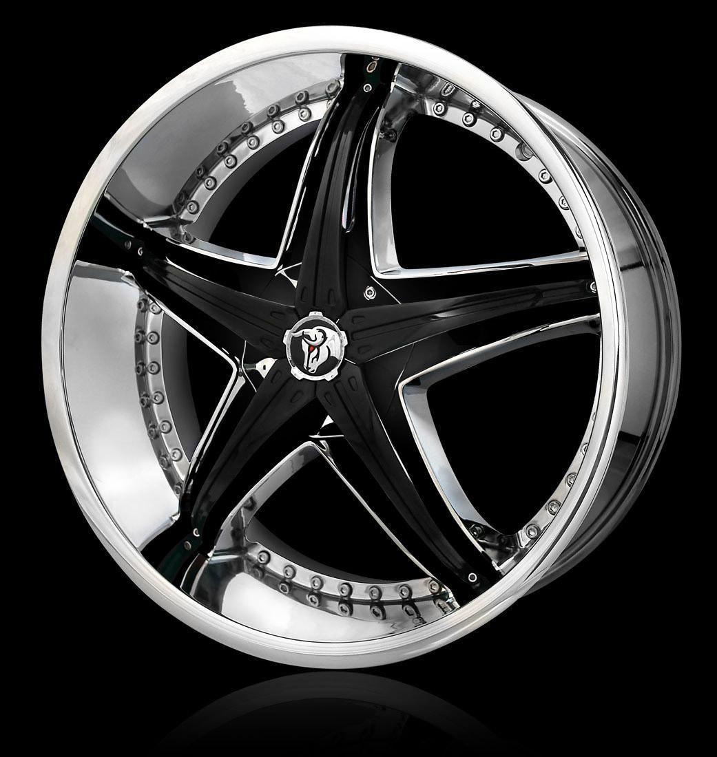 20 Diablo Reflection Black Rims Wheels 20x7 5 42 5x105 Chevy Cruz