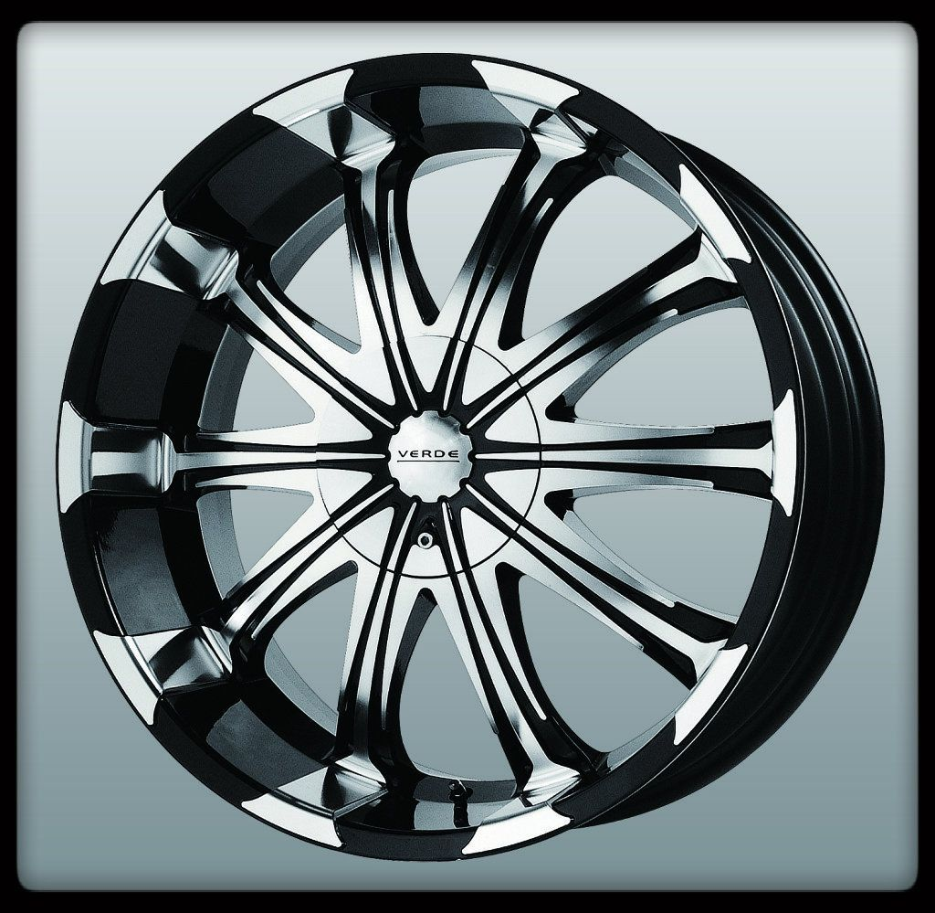 V51 Avatar Black Machined Silverado Colorado Tahoe Wheels Rims