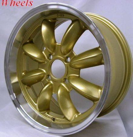 Rota RB 15x7 4x100 ET35 67 1 Royal Gold Rims Wheels
