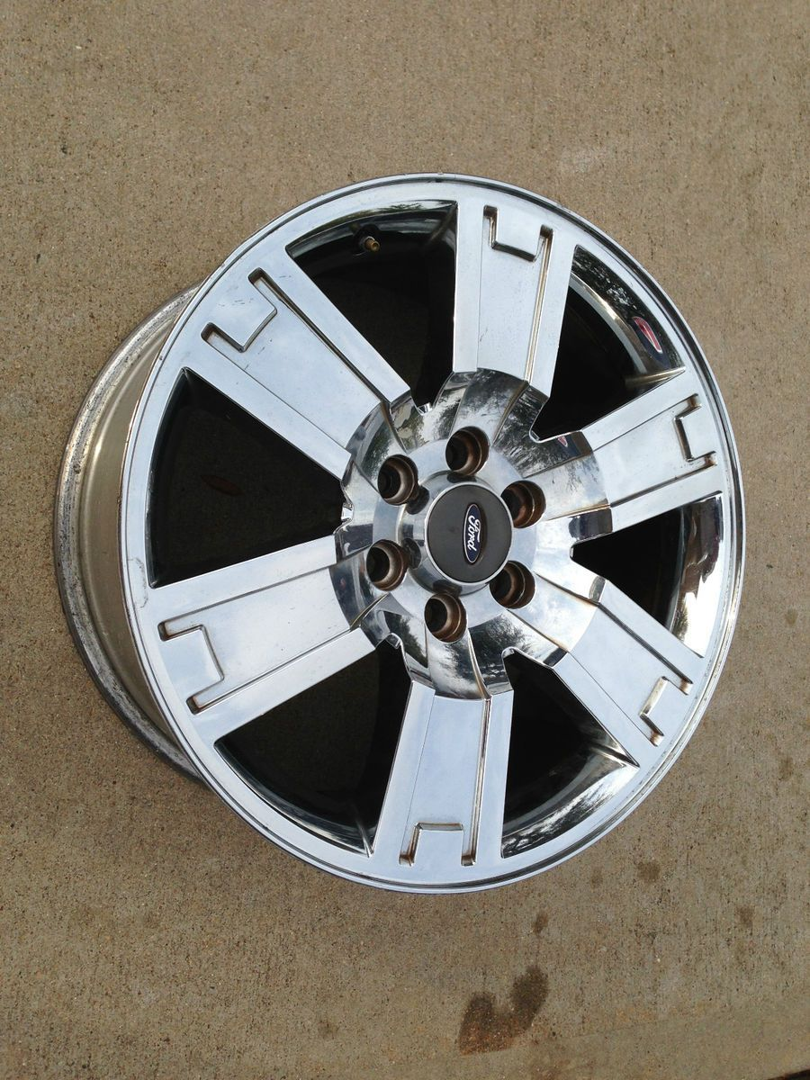 F150 Chrome Platinum Harley Factory Stock 20 Wheels Rims