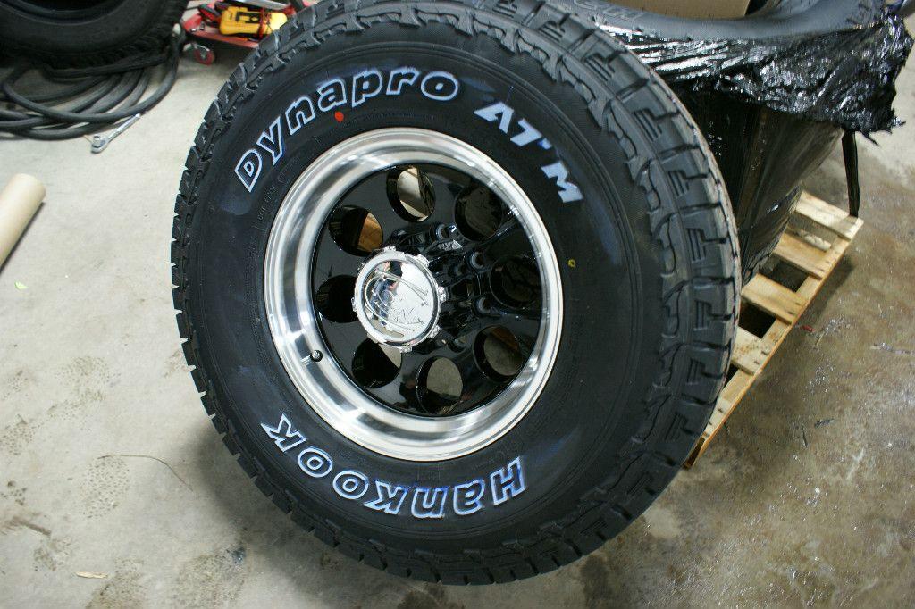 Hankook Dynapro at M 265 75 Chevy 2500 3500 Wheels Rims Tires