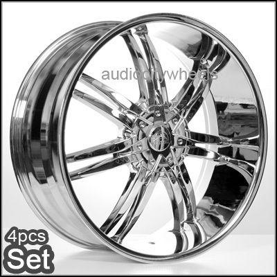 26 inch Wheels Rims Chevy Ford Cadillac QX56 Escalade