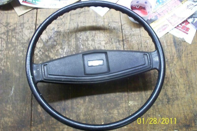 1973 77 Chevrolet GMC Truck Van Steering Wheel w Horn Cap