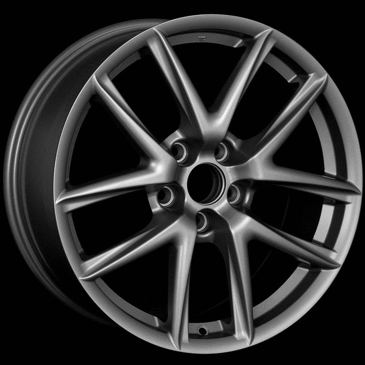 18 LFA Style Matte Gun Metal Wheels Rims Fit Lexus IS250 AWD