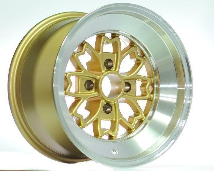 15 Rota Aleica Gold Rims Wheels 15x9 10 4x100