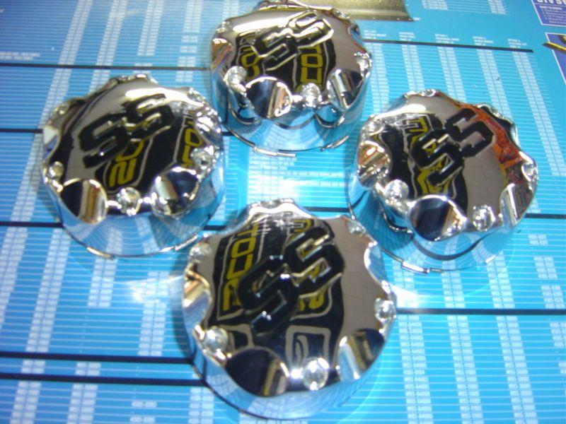 ITP SS 112 212 108 106 Rim Wheel Chrome Center Caps