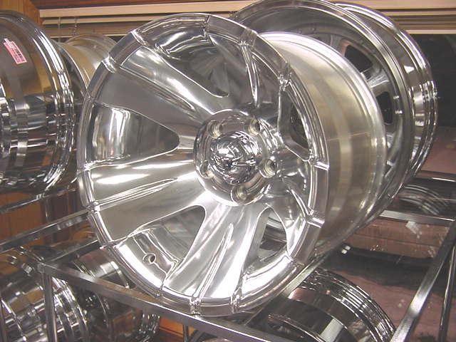 15x8 138 Polished ion Wheels Chevy GM S10 S15 Blazer 4x4 Only ZR2