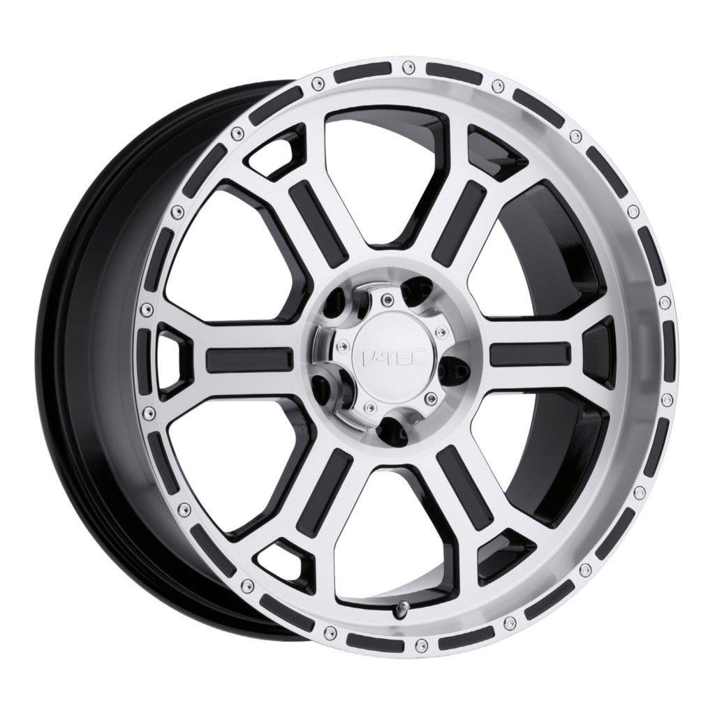 inch V Tec Raptor Gloss Black Machined Wheels Rims 5x5 5x127 00