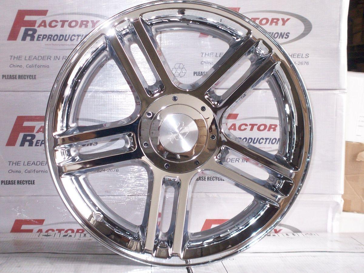 Harley Chrome Expedition Wheels Rims Set 6 Lug Nut 2004 Current