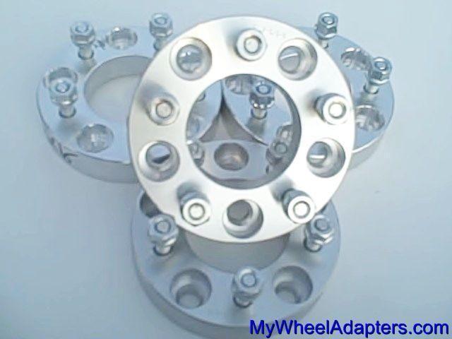 5x150 Hub to 5x150 Wheel Set 4 Rim Lug Adapters 1 5 Thick Billet