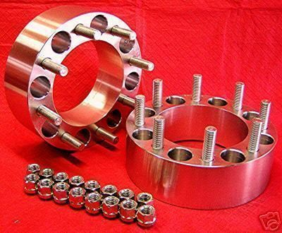 Wheel Spacers Adapters 8 Lug Dodge Dually Ford Chevy