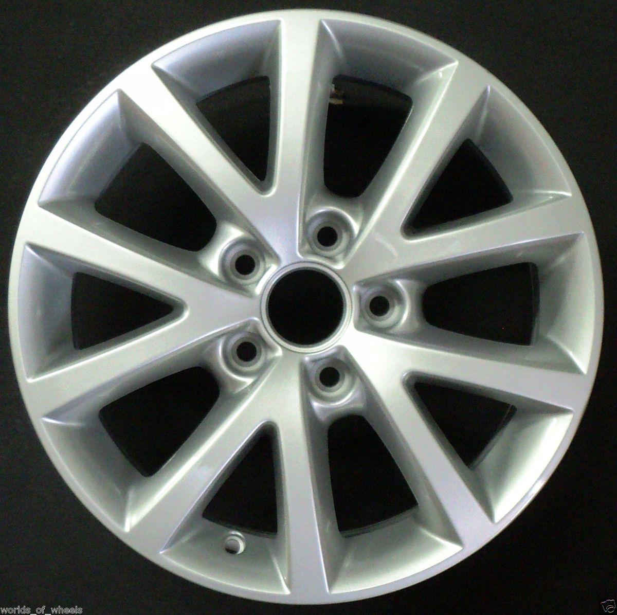 Volkswagen VW Jetta 2010 2011 2012 16 10 Spoke Factory OEM Wheel Rim H