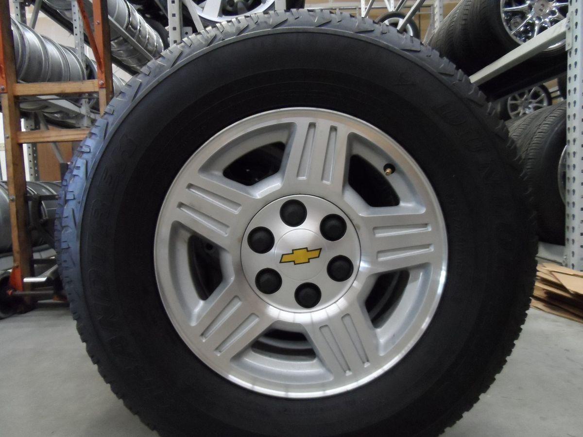 Chevy Tahoe Suburban Silverado GMC Yukon Wheels w Tires Nice