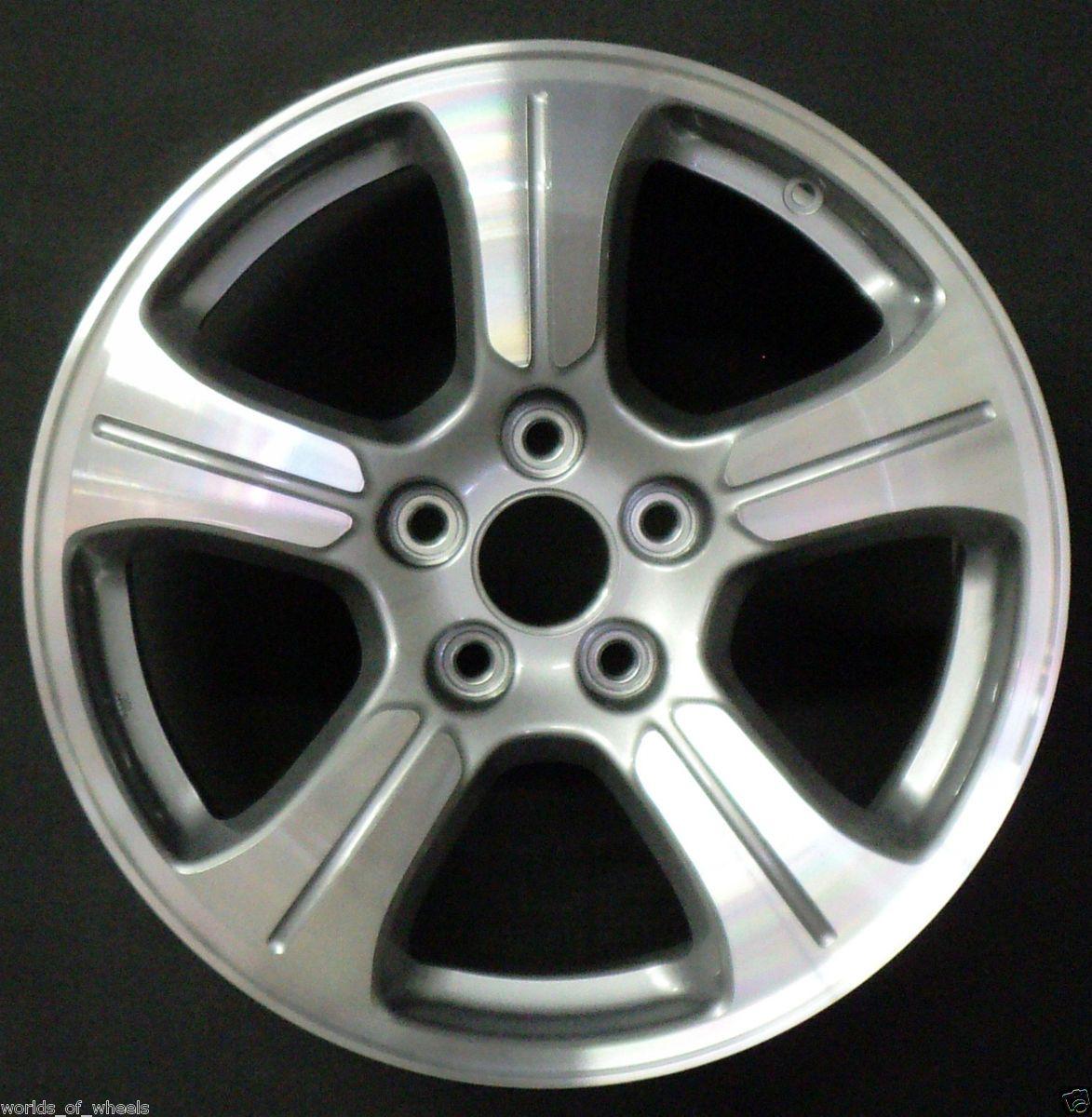 2012 Honda Pilot 18 5 Spoke Machined And Silver Factory OEM Wheel Rim