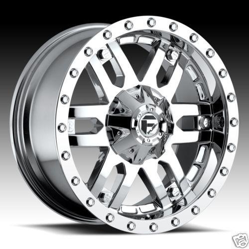 Mojave Wheel Set XD Chrome Rims Ford Chevy GMC Dodge Wheels