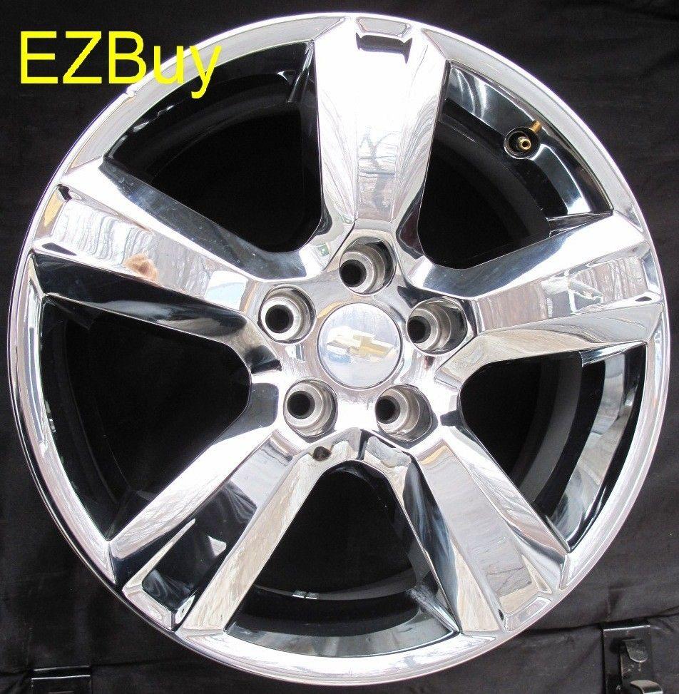 Malibu 2010 2012 Factory Chrome Clad Wheel Rim 5436 Option N75
