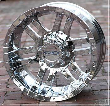 18 inch Chrome Wheels Rims Ford F250 F350 Truck 8 Lug