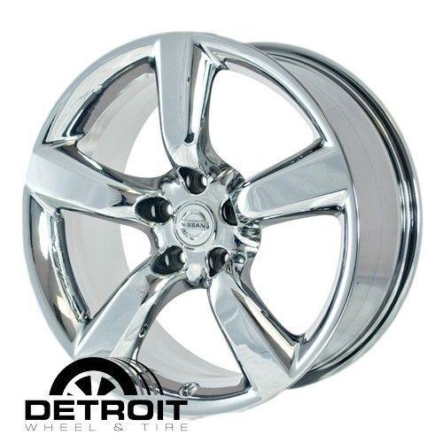 350Z 2003 2009 PVD Bright Chrome Wheels Rims Factory 62454