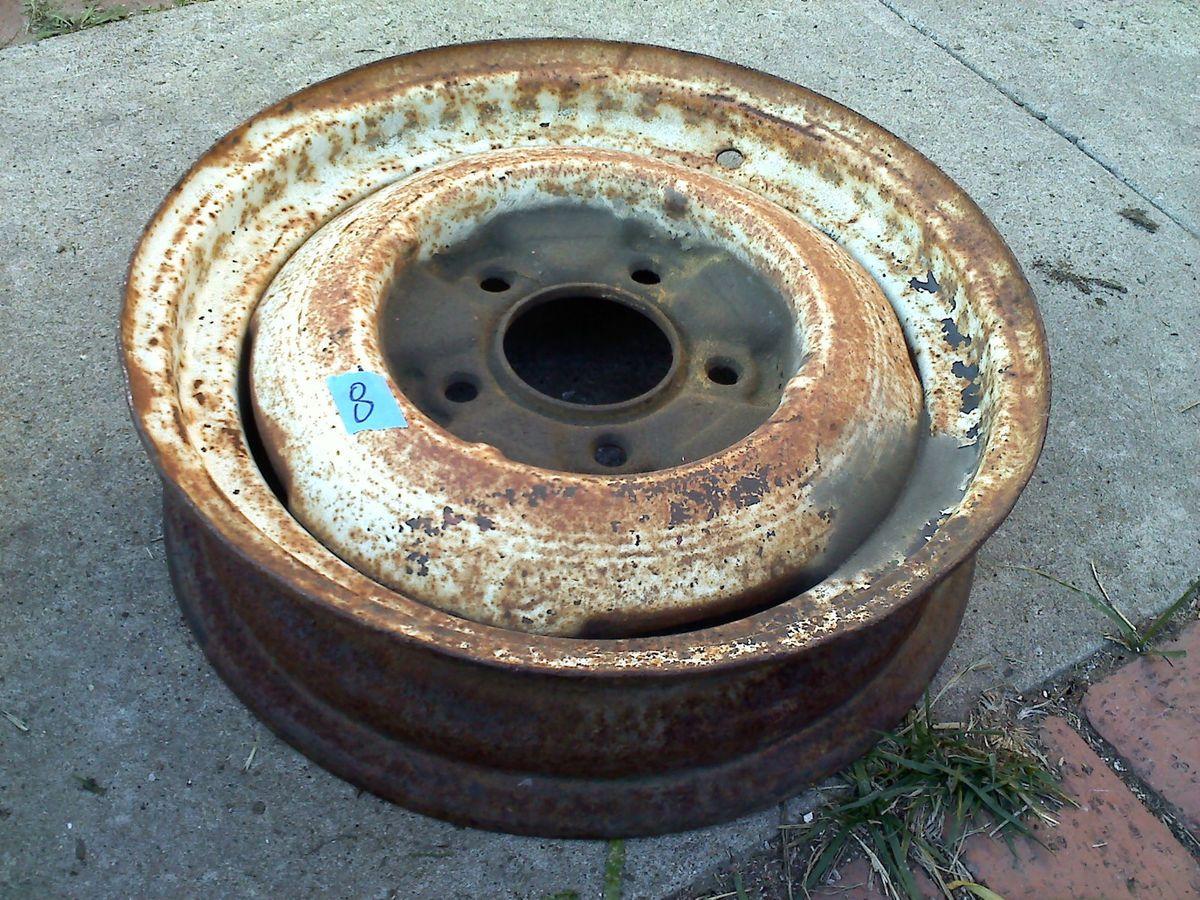 ford steel 16 inch rim wheel 1940 hot rat rod custom 1932 flathead