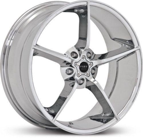 20 x8 5 Ruff Racing R948 Chrome Wheels Rims