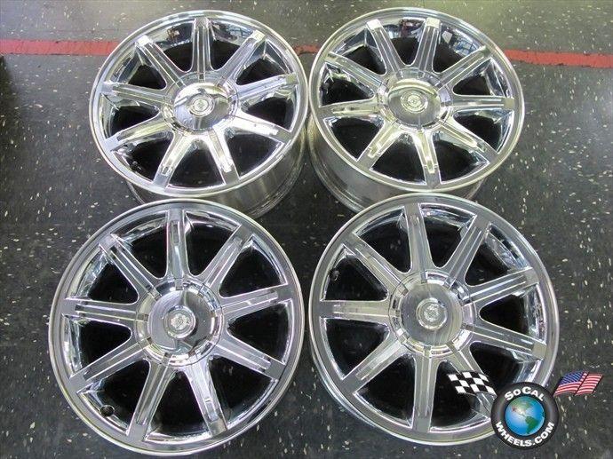 07 10 Chrysler 300 300C Factory 18 Chrome Clad Wheels OEM Rims 2279