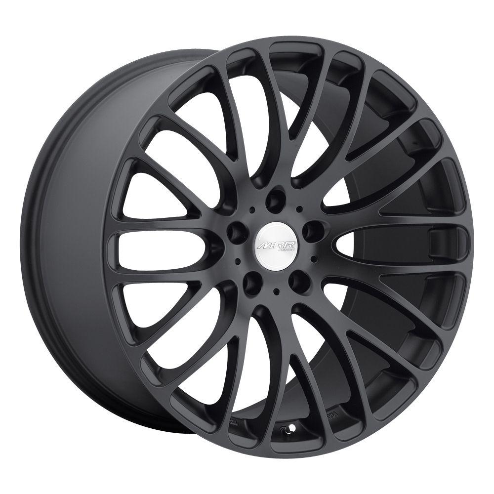 20 MRR HR6 Black Rims Wheels BMW M5 M6 645LI 650LI 528i 530 540 550