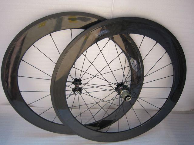 Bicycle Carbon Wheels 700c Carbon Fiber Wheels 3K Model WS60C