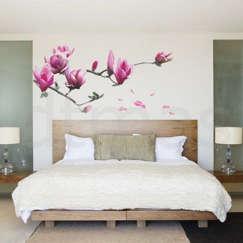 Magnolia Removable Kids Room Mural Wall Sticker Decal