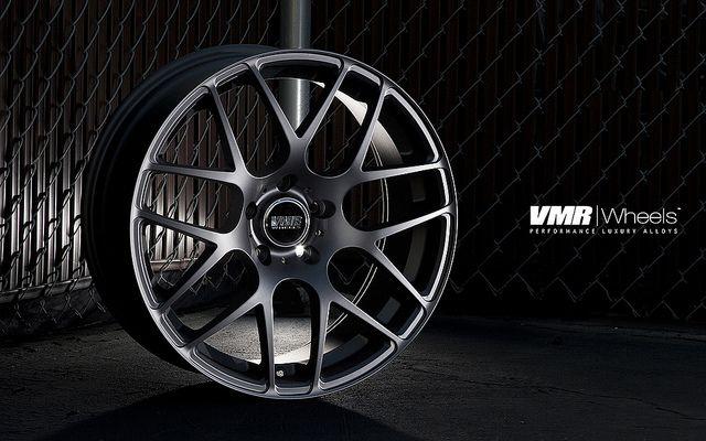19 VMR V710 Matte Black Wheels Rims Staggered Fit Nissan 350Z 370Z